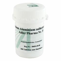 Biochemie Adler 20 Kalium alum.sulf.D12 Tabl.
