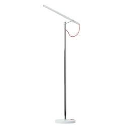 Minimalistyczna lampa stojąca LED biała 631040901