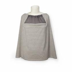 Wielofunkcyjny szal do karmienia Grey Stripe
