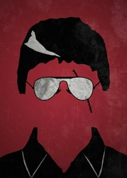 Narco Charlatans - Tony Montana, Cocaine - plakat Wymiar do wyboru: 29,7x42 cm