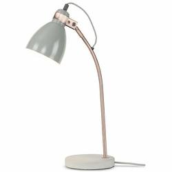 Its About RoMi :: Lampa biurkowa Denver - szara - szary || miedziany