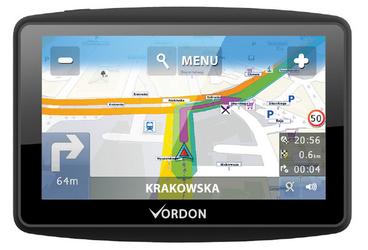Nawigacja VORDON 7 Truck AV Mapa Europy Dożywotnia + PREZENT