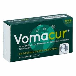 Vomacur 40 Suppos.