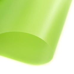 Papier transparentny gładki - zielony jasny - ZIELJAS