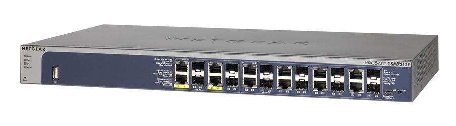 Switch Netgear GSM7212F M4100-12GF - Szybka dostawa lub możliwość odbioru w 39 miastach