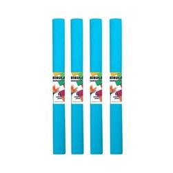 Bibuła marszczona 50x200 cm - niebieska jasna - NIEJAS