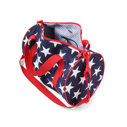 Podręczna torba granatowa w gwiazdy Penny Scallan