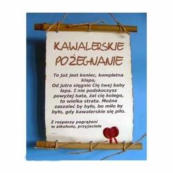Dyplom Bambus - Kawalerskie Pożegnanie