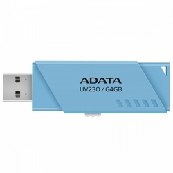 Adata Pendrive UV230 64GB USB2.0 NIEBIESKI