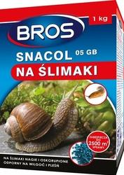 Bros, Snacol 05GB, środek zwalczający ślimaki, 1kg