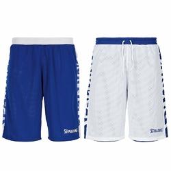 Spodenki dwustronne Spalding Essential niebiesko-białe