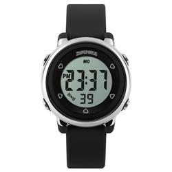 Zegarek dziecięcy DATOWNIK LED SKMEI 1100 - BLACK - BLACK