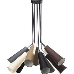 KARE Design :: Lampa wisząca Multi speaker 10 kloszy