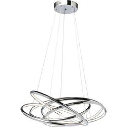 KARE Design :: Lampa wisząca Saturn LED Chrome Big