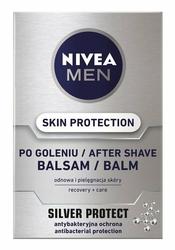 Nivea For Men Silver Protect,  balsam po goleniu, 100ml