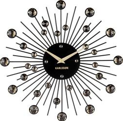 Zegar ścienny Sunburst czarny
