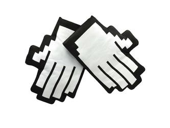 Pikselowe rękawice