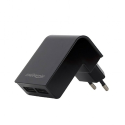 Gembird Ładowarka 2 portowa USB 2.1Aczarna