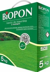 Biopon, nawóz granulowany do trawnika z mchem, 5kg