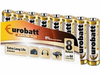 Eurobatt Bateria Alkaliczna LR6 AA  Alkaline plus 1,5V