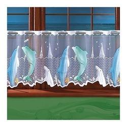 Firanka delfiny wysokość 50 cm