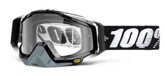 Gogle 100 racecraft abyss black +zrywki