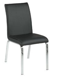 Krzesło leonora czarne - czarny