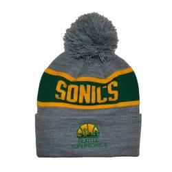 Czapka zimowa Mitchell  Ness NBA Seattle Supersonics Team Tone Knit - SEASUP INTL536