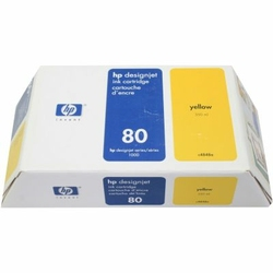 Tusz Oryginalny HP 80 XL C4848A Żółty - DARMOWA DOSTAWA w 24h