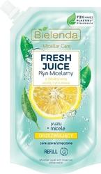 Bielenda fresh juice płyn micelarny orzeźwiający z wodą cytrusową yuzu 500ml - doypack