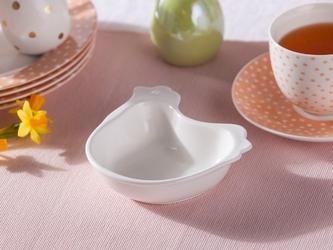 Talerz  salaterka  naczynie kurka porcelana święta wielkanoc altom design 15x17,5 cm