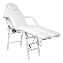 Fotel kosmetyczny składany p270 pedi biały