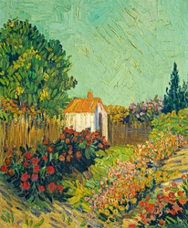 Landscape, vincent van gogh - plakat wymiar do wyboru: 30x40 cm
