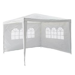 Namiot ogrodowy 3x3 m, biały pawilon handlowy