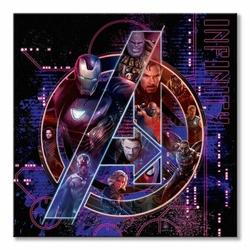 Avengers: Infinity War Ikony - obraz na płótnie