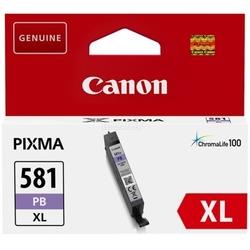 Tusz oryginalny canon cli-581 xl pb 2053c001 niebieski foto - darmowa dostawa w 24h