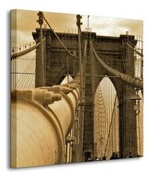 New york - brooklyn bridge - obraz na płótnie
