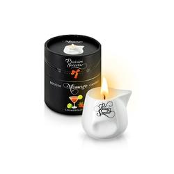 Zapachowa świeca do masażu - plaisirs secrets massage candle  cosmopolitan