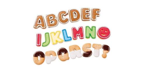 Tescoma wykrawacze alfabet delicia kids 34 szt.
