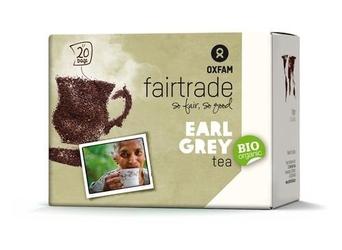 Oxfam | herbata czarna earl grey saszetki 36g | organic - fairtrade
