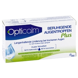 Opticalm kojące krople do oczu plus