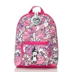 Plecak zipzoe mini ze smyczą - robot pink 1-3lata