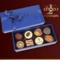 Czekoladki niebieskie czekoladki 2x4