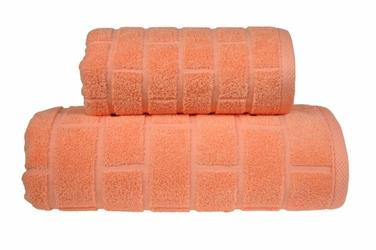 Ręcznik Greno Brick Brzoskwiniowy - brzoskwiniowy