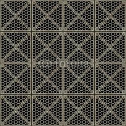 Board z aluminiowym obramowaniem duży obraz metalowej bariery siatki