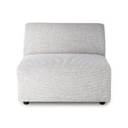Hkliving sofa jax: element środkowy, jasnoszary mzm4802