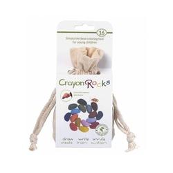 Crayon rocks kredki w bawełnianym woreczku - 16 kolorów