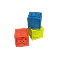 Zestaw zabawek w pojemniku czerwony