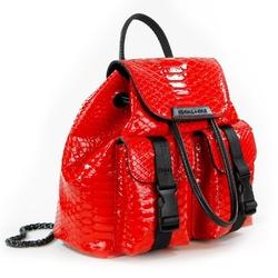 Plecak damski kendall+kylie poppy mini backpack - czerwony