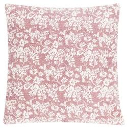 Poduszka flower garden blush 60x60 - kremowy || czerwony
